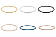 iXXXi Füllring 1mm Sandgestrahlt verschiedene Farben