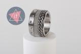 iXXXi Kombi 14 mm silber curb chain