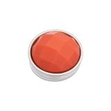 iXXXi Füllring Top Part Facet Orange Stone