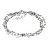 ixxxi Bracelet Kenya Green Beads
