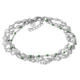 ixxxi Bracelet Botswana Green Beads