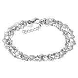 ixxxi Bracelet Botswana Grey Beads