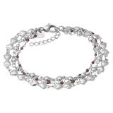 ixxxi Bracelet Botswana Brown Beads