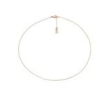 SPIRIT ICONS Anchor Chain Kette 90cm rose vergoldet