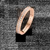 SPIRIT ICONS Chic  2mm Ring rose vergoldet