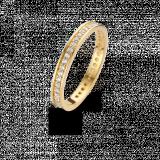 SPIRIT ICONS Chic  2mm Ring vergoldet