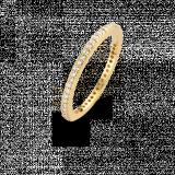 SPIRIT ICONS Chic Rustic 1,5mm Ring vergoldet