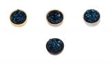 iXXXi Füllring Top Part Drusy dark blue