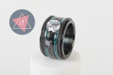 iXXXi Kombi 14 mm black/turquoise caviar